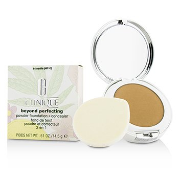 Clinique Beyond Perfecting Powder Foundation + Corrector - # 14 Vanilla (MF-G)