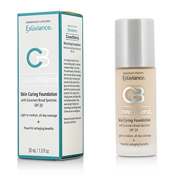 Exuviance CoverBlend Skin Caring Foundation SPF20 - # Bisque