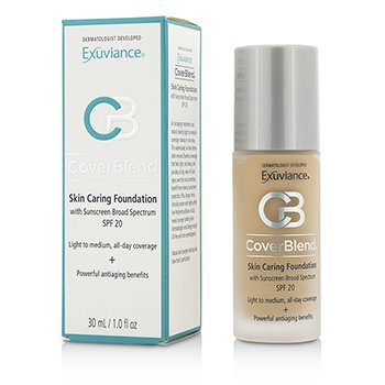 Exuviance CoverBlend Skin Caring Foundation SPF20 - # Warm Beige