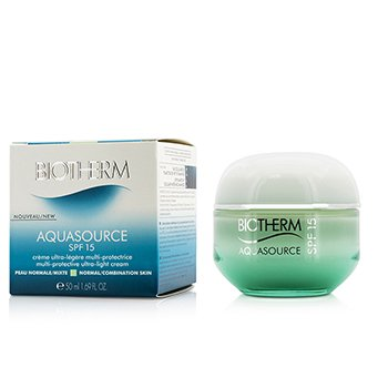 Biotherm Aquasource Multi-Protective Ultra-Light Cream SPF 15 - For Normal/Combination Skin