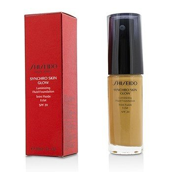 Synchro Skin Glow Luminizing Fluid Foundation SPF 20 - # Golden 5