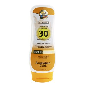 Lotion Sunscreen Moisture Max Broad Spectrum SPF 30