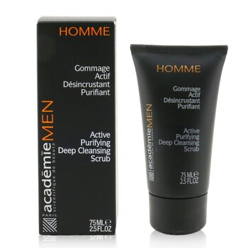 Men Active Purifying Deep Cleansing Scrub