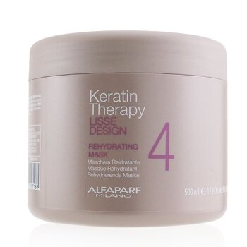 AlfaParf Lisse Design Keratin Therapy Rehydrating Mask (Salon Size)