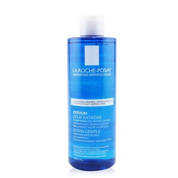 La Roche Posay Kerium Extra Gentle Physiological Shampoo with La Roche-Posay Thermal Spring Water (For Sensitive Scalp)