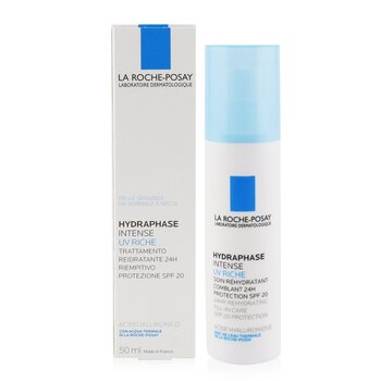 La Roche Posay Hydraphase UV Intense Riche Long Lasting Intense Rehydration SPF 20