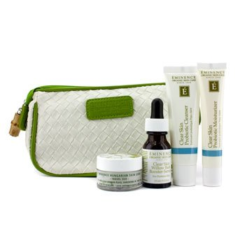 Eminence Clear Skin Starter Set (For Acne Prone Skin)