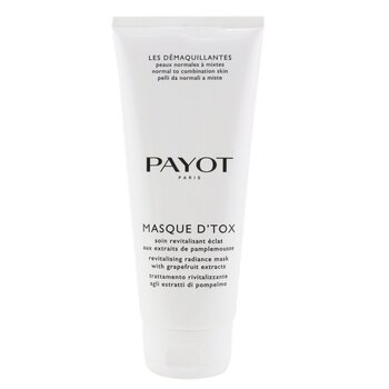 Payot Les Demaquillantes Masque DTox Detoxifying Radiance Mask - For Normal To Combination Skins (Salon Size)