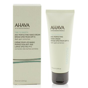 Ahava Time To Smooth Age Perfecting Hand Cream Broad Spectrum SPF15