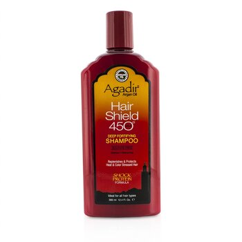 Agadir Argan Oil Hair Shield 450 Plus Deep Fortifying Shampoo - Sulfate Free (For All Hair Types)