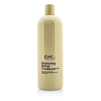 Label.M Brightening Blonde Conditioner (Infuses Moisture and Nurtures, Brightens Colour For Glistening Blonde Tones)