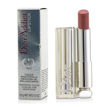 Christian Dior Dior Addict Hydra Gel Core Mirror Shine Lipstick - #553 Smile