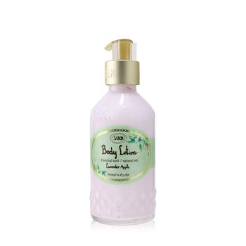 Sabon Body Lotion - Lavender Apple (With Pump)