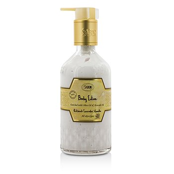 Sabon Body Lotion - Patchouli Lavender Vanilla (With Pump)