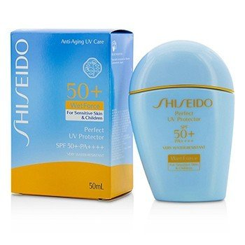 Shiseido Perfect UV Protector S WetForce SPF 50+ PA++++ (For Sensitive Skin & Children)