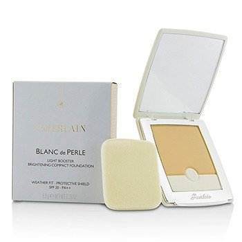 Guerlain Blanc De Perle Light Booster Brightening Compact Foundation SPF 20 - # 01 Beige Pale