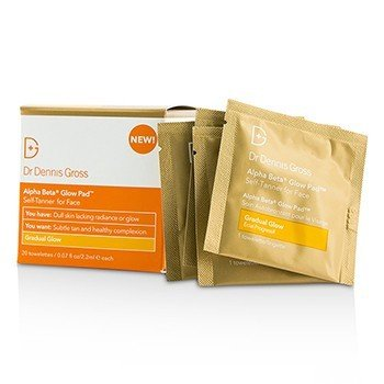 Dr Dennis Gross Alpha Beta Glow Pad For Face - Gradual Glow