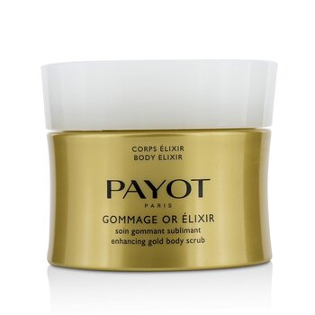 Payot Body Elixir Gommage Or Elixir Enhancing Gold Body Scrub
