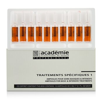 Specific Treatments 1 Ampoules Rougeurs Diffuses - Salon Product