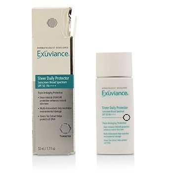 Exuviance Sheer Daily Protector SPF 50 PA++++ (Box Slightly Damaged)