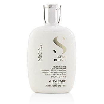 AlfaParf Semi Di Lino Diamond Illuminating Low Shampoo (Normal Hair)