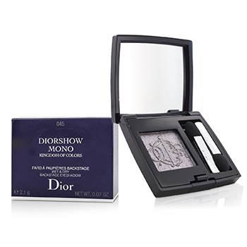 Christian Dior Kingdom of Colors Diorshow Mono Wet & Dry Backstage Eyeshadow (Limited Edition) - # 045 Fairy Grey (Box Slightly Damaged)