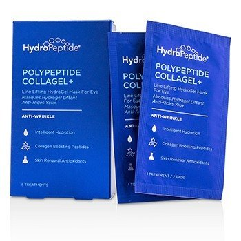 HydroPeptide Polypeptide Collagel+ Line Lifting Hydrogel Mask For Eye