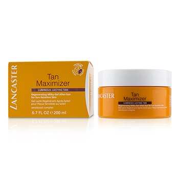 Lancaster Tan Maximizer Regenerating Milky-Gel After-Sun For Sun-Sensitive Skin - Luminous Lasting Tan