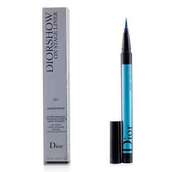 Christian Dior Diorshow On Stage Liner Waterproof - # 351 Pearly Turquoise
