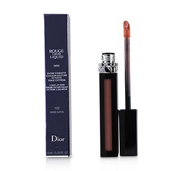 Christian Dior Rouge Dior Liquid Lip Stain - # 162 Miss Satin (Pinky Coral)