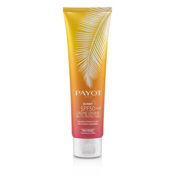 Payot Sunny SPF 50 Crème Divine High Protection The Invisible Sunscreen - For Face & Body