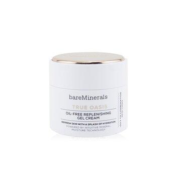 BareMinerals True Oasis Oil-Free Replenishing Gel Cream - Oily To Combination Types (Box Slightly Damaged)