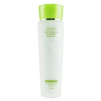 Aloe Full Water Activating Emulsion - For Dry to Normal Skin Types (Box Slightly Damaged)