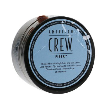 American Crew Men Fiber Pliable Fiber - High Hold and Low Shine (Sticker Slightly Damaged)