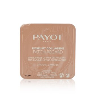 Payot Roselift Collagene Patch Regard - Anti-Fatigue, Lifting Express Care (Eye Patch) (Salon Size)